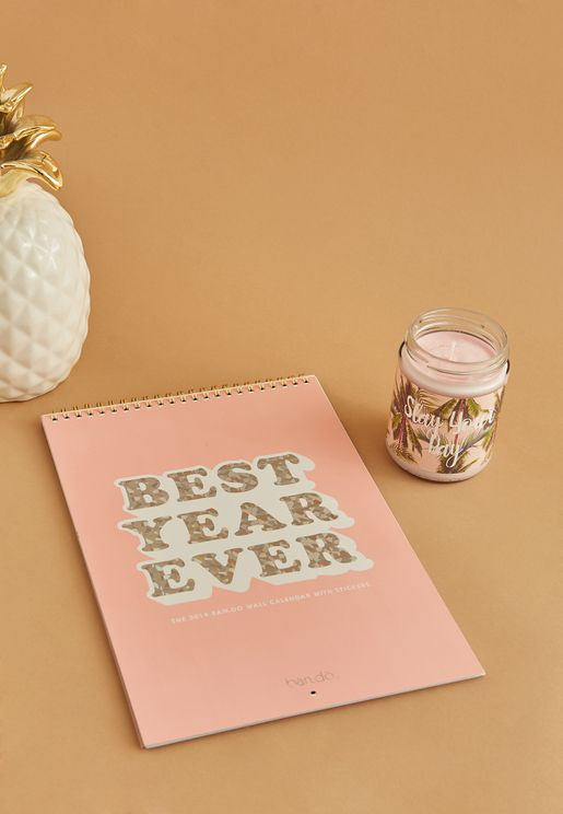 Best Year Ever Wall Calendar