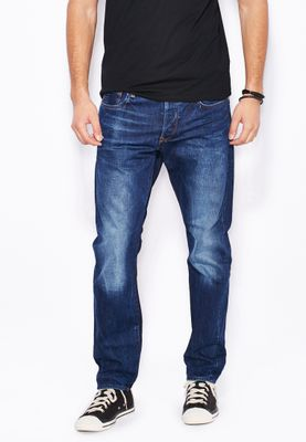 G-Star Raw Wisk Tapered Relaxed Dark Wash Jeans