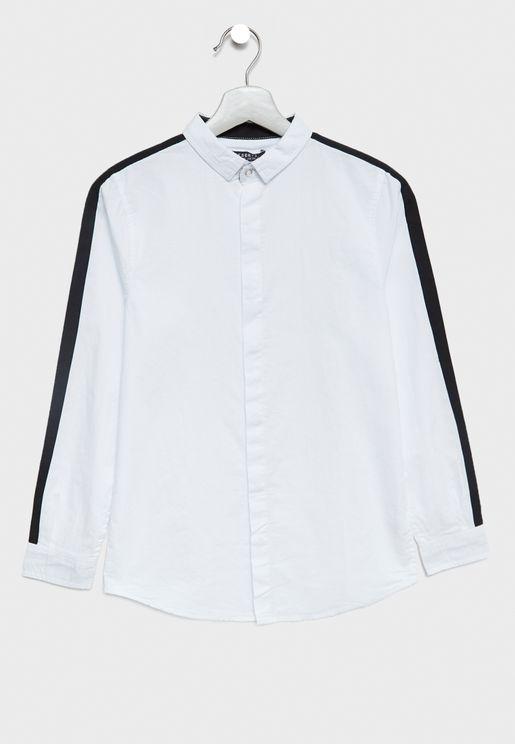 Teen Side Striped Shirt