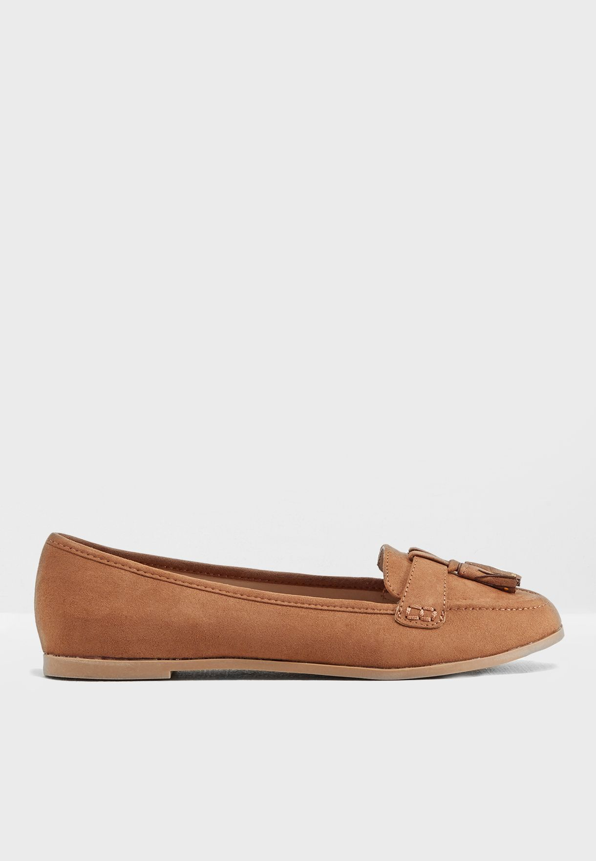 Shop Dorothy For Women Perkins Browns Fit Lane Wide Loafers 35321155 rhdCtsxQ