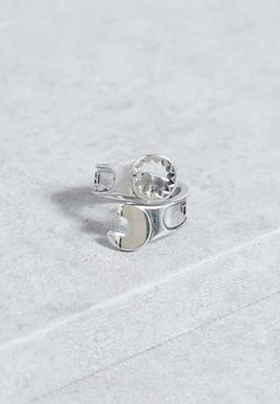 Large Come Undone Ring