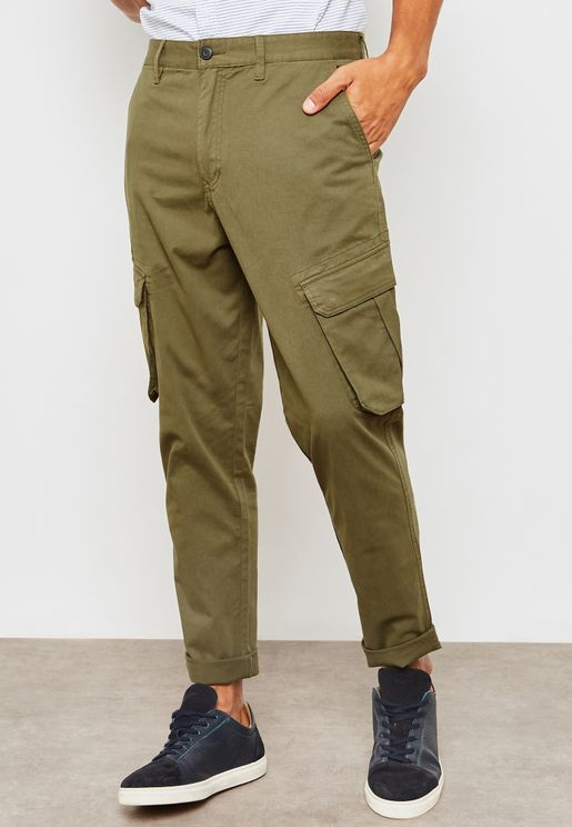 Slim Fit Stretch Cargo