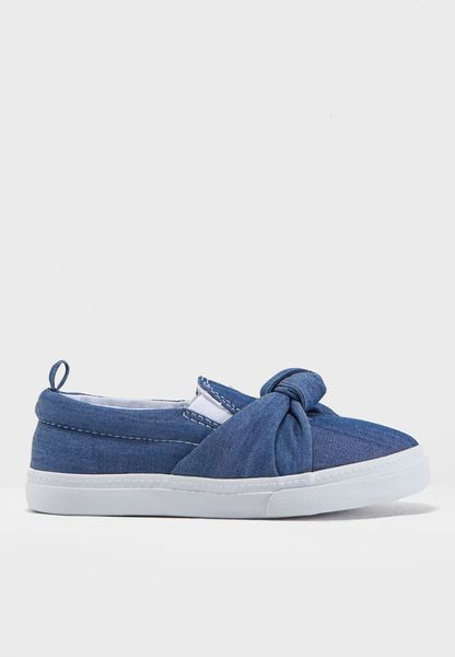 Youth Bow Detail Slip On