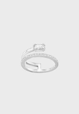 Gray Motif Ring