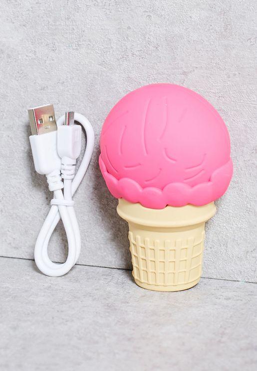 2600mAh Ice Cream Portable Charger
