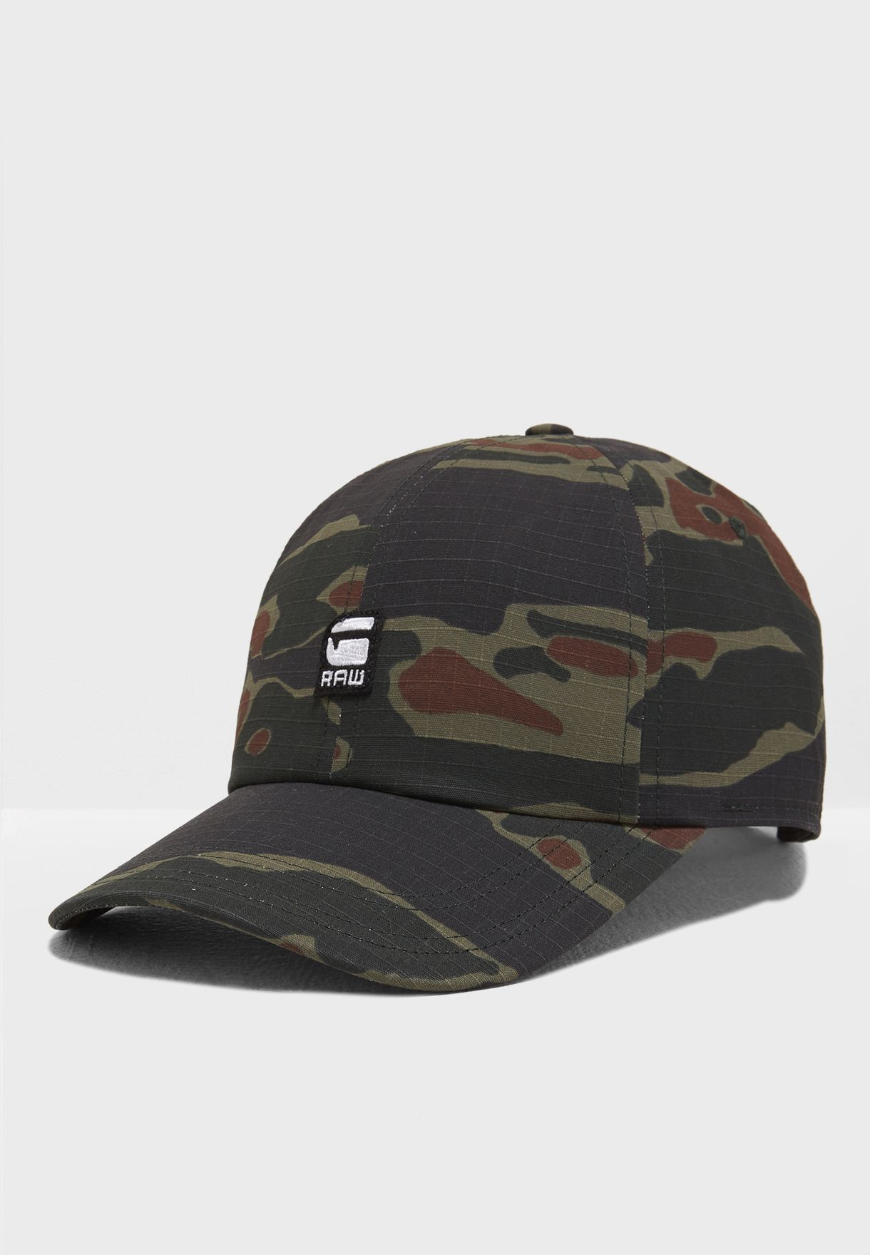 314a3361dc6 Shop G Star Raw prints Aversons Camo Print Cap D09615 A230 9608 for ...