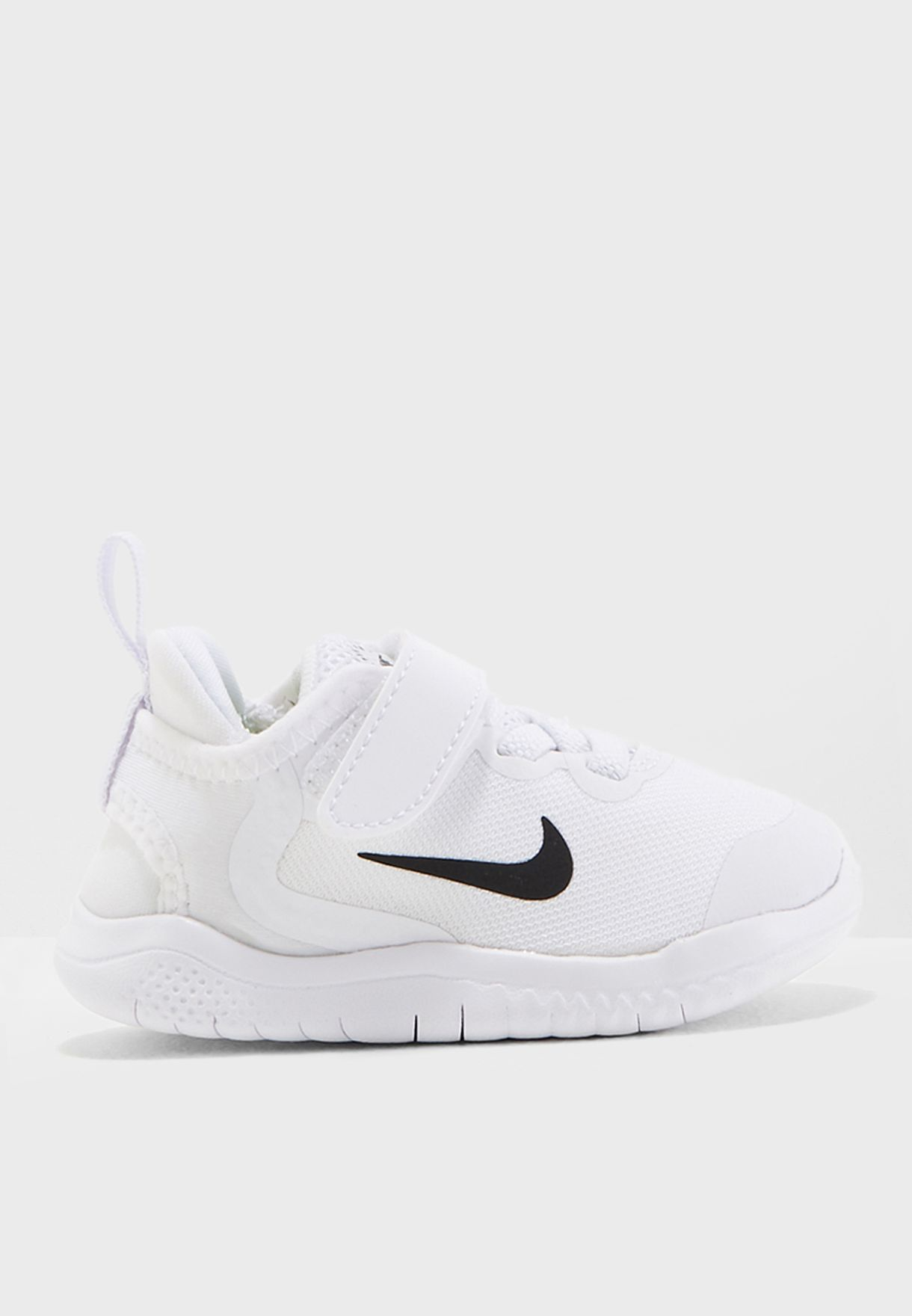 b1da68147517 Shop Nike white Infant Free Rn 2018 AH3453-100 for Kids in UAE ...