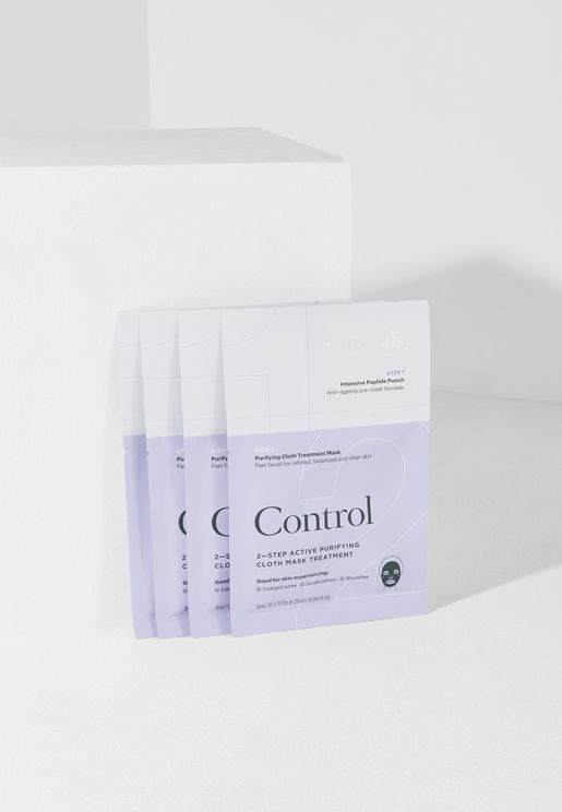 Control- 2 Step Face Mask Pack