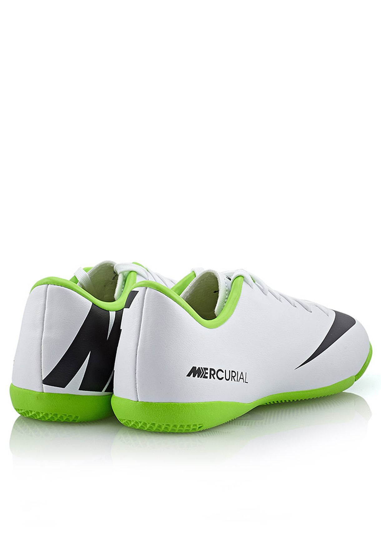 12fe0a9746409 Shop Nike white Victory IV IC Trainers 555646-103 for Kids in Kuwait ...