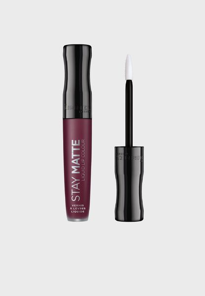 Stay Matte Liquid Lip Colour - Midnight