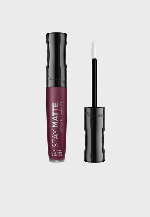 Stay Matte Liquid Lip Colour- 800 Midnight
