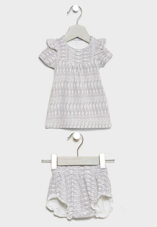 Infant Dress + Knicker Set