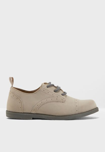 Youth Wing Tip Shoe