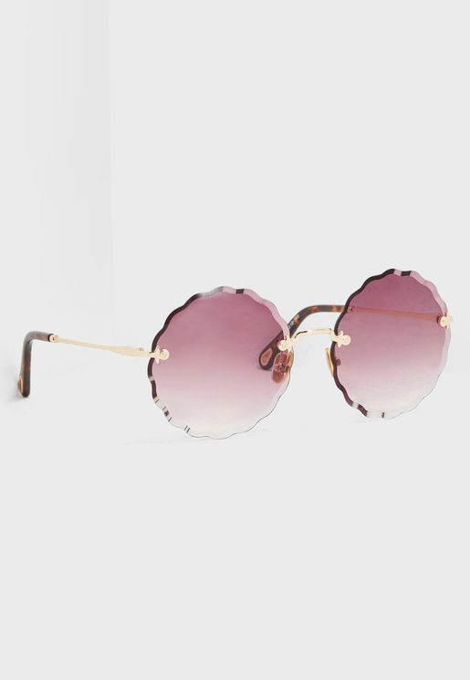 Scallop Edge Sunglasses