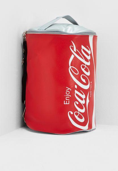 شنطة بطبعة كوكا كولا