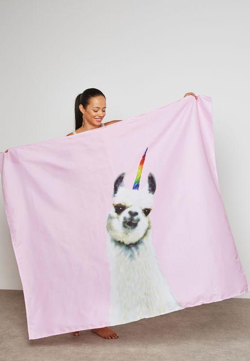 Magical Llama Tapestry 130x150cm