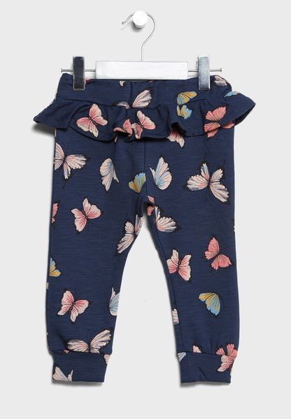 Infant Butterfly Print Sweatpants