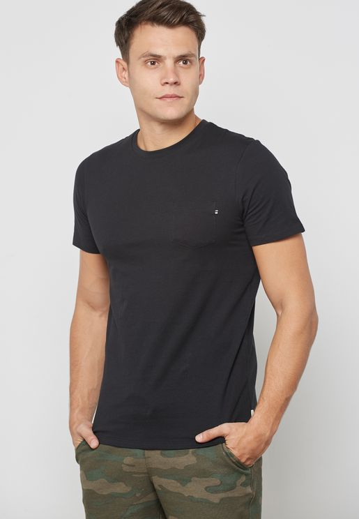 Essential Slim Fit Crew Neck T-Shirt