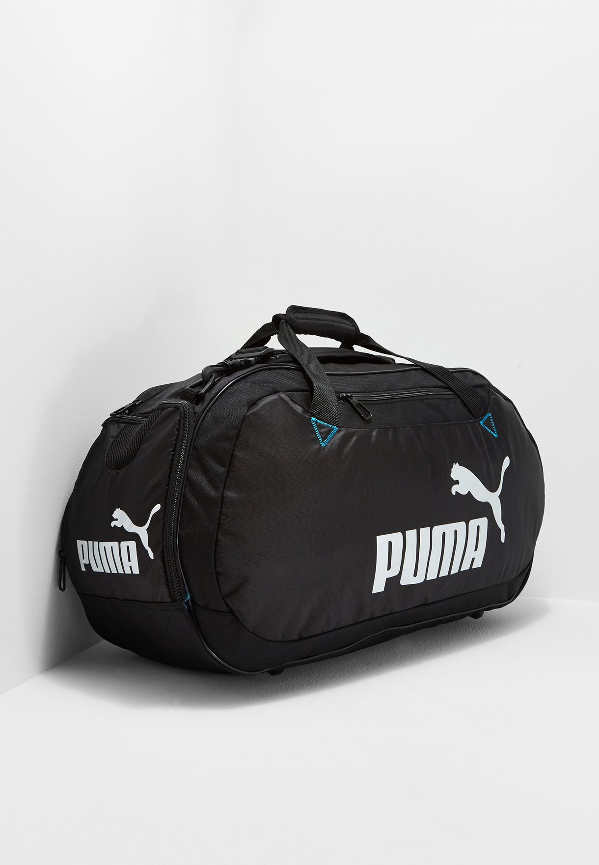 5389eba5dab2 Shop PUMA black Medium Active Duffel Bag 07446901 for Men in Bahrain -  PU020AC57TDE