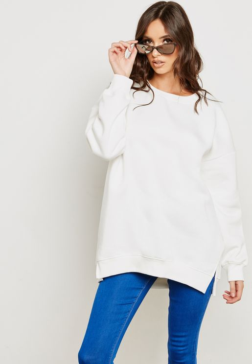 Long Sleeve Oversized Sweatshirt