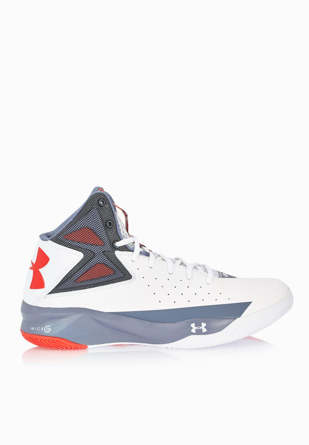 c1c2c53e0eb Shop Under Armour multicolor Rocket Sports Shoes 1264224-102 for Men ...
