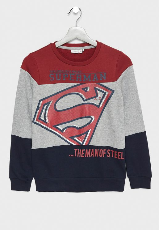Little Superman Sweatshirt