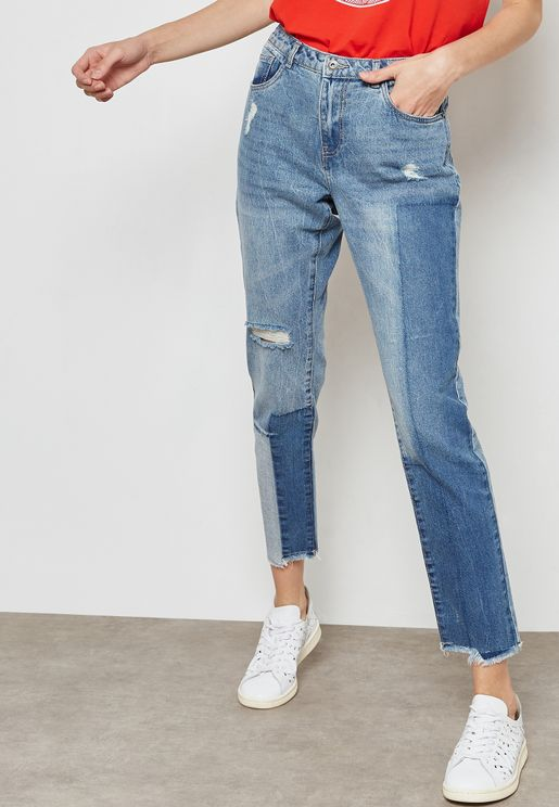 Patches Skinny Jeans