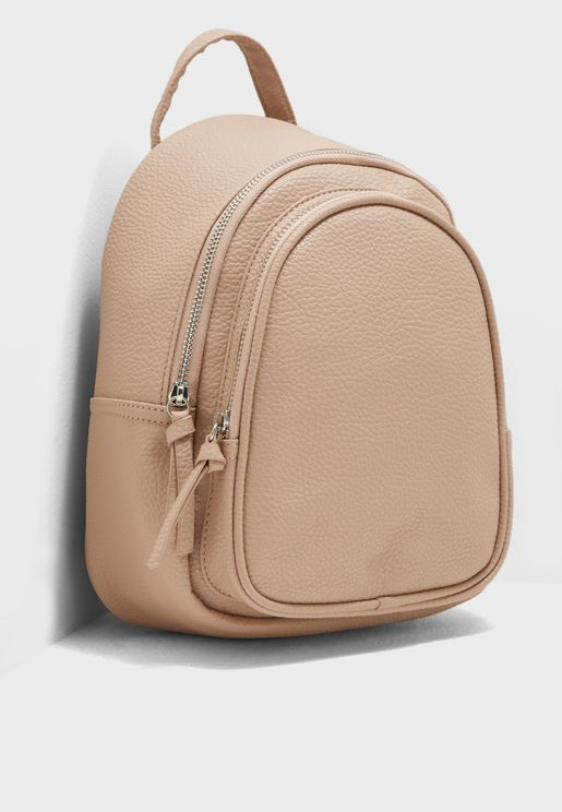 Dolly Double Zip Around Mini Backpack