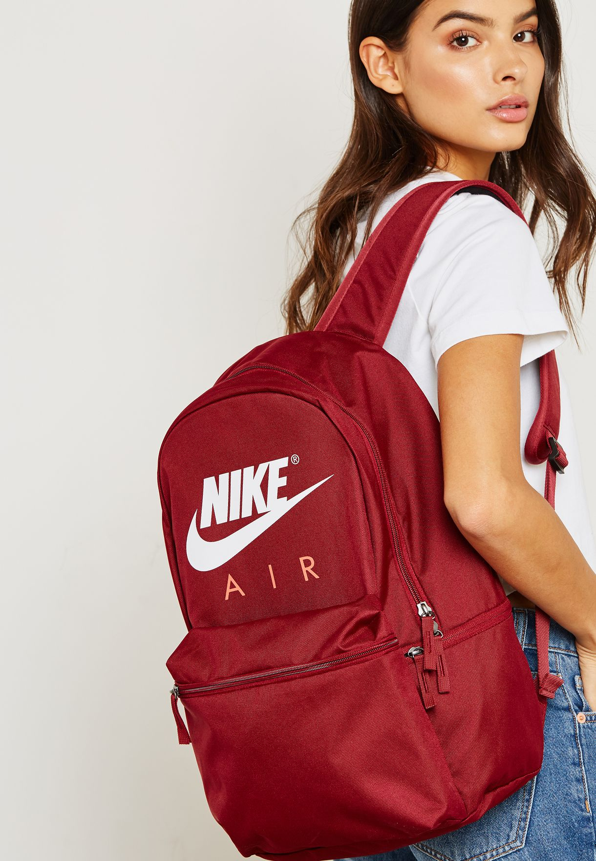 c6e4a1f61a Shop Nike red Air Backpack BA5777-677 for Women in UAE - NI727AC57JSS
