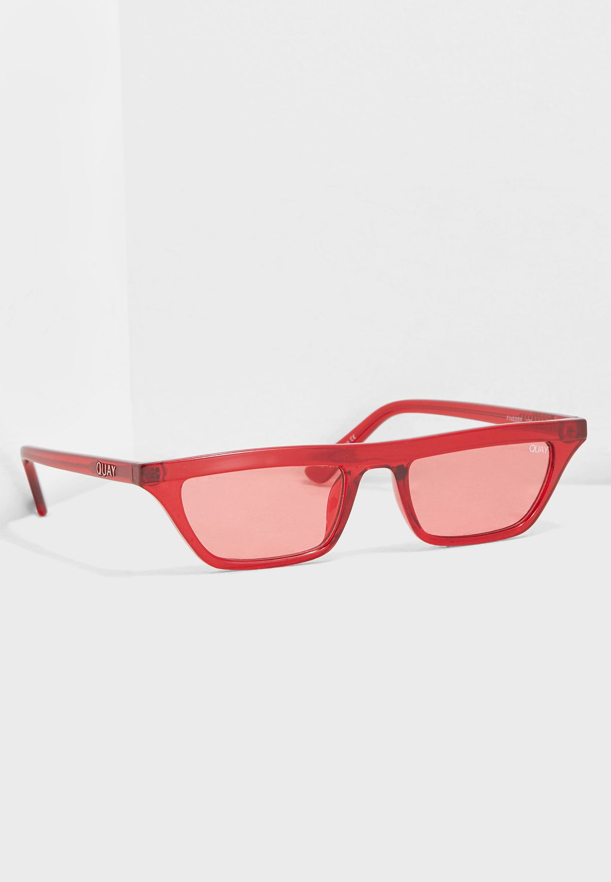 93915a616b Shop Quay Australia red Finesse Sunglasses QW-000383-RED RED for ...