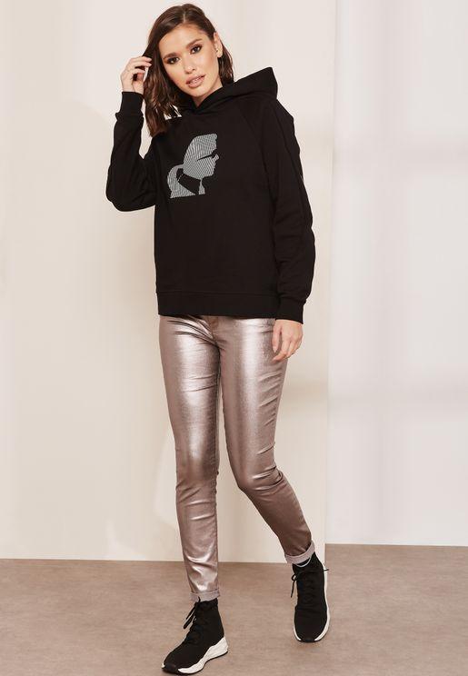 Metallic Jeans