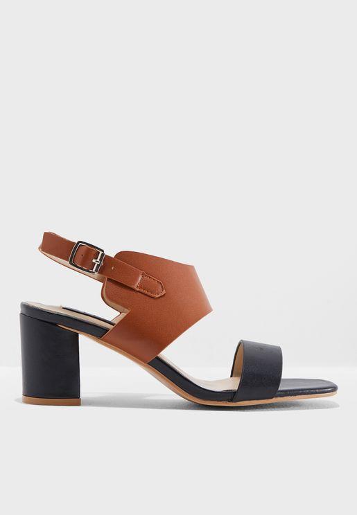 Sofy Heeled Sandal