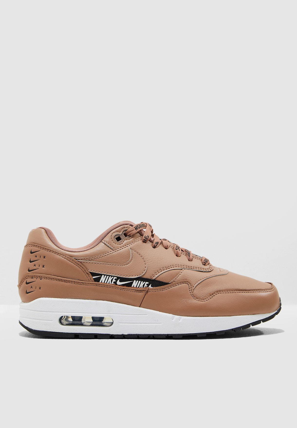 brand new a0074 5a505 Shop Nike beige Air Max 1 SE 881101-201 for Women in Saudi ...