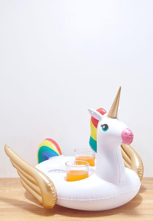 Unicorn Inflatable Drink Holder