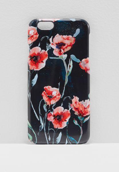 Winter Poppies iPhone 6/6s Case