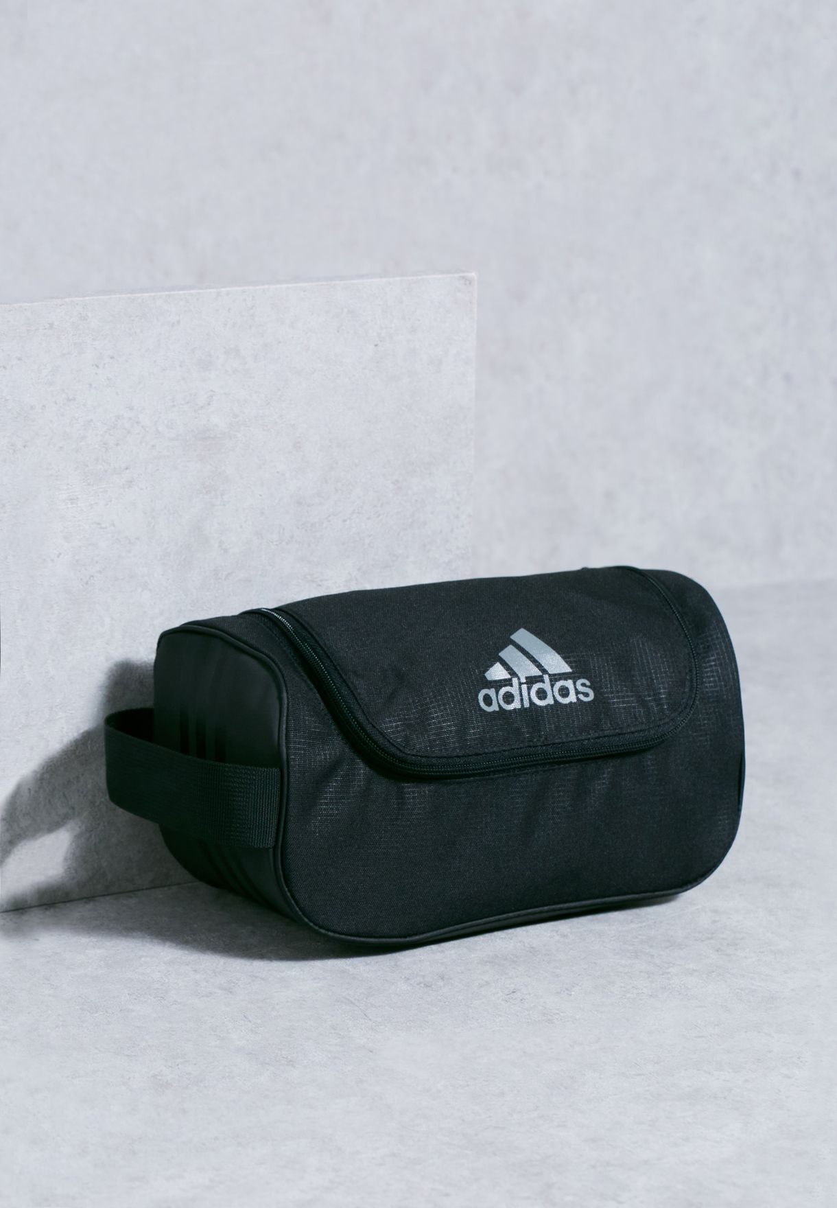 a19c29d5ffaa Shop adidas black 3 Stripe Toiletry Bag AK0021 for Men in Qatar -  AD476AC57PPA