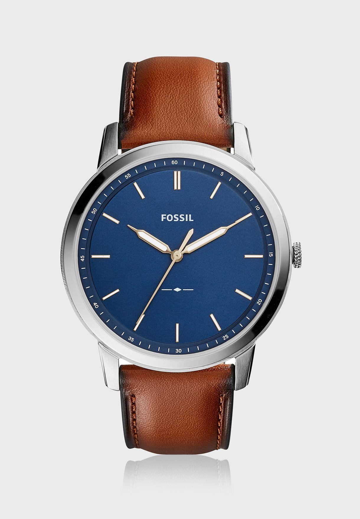 927c94f7f تسوق ساعة جلد اصلي ماركة فوسيل لون بني FS5304 في عمان - FO413AC57RLY