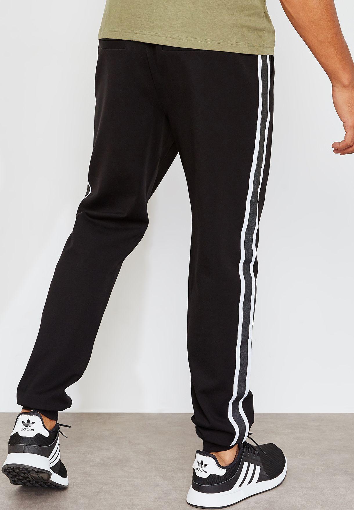 Leon Stripe 1836 Cuffed Sweatpants