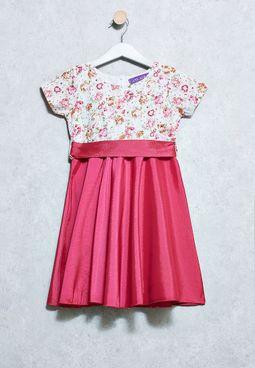 Kids Satin Dress
