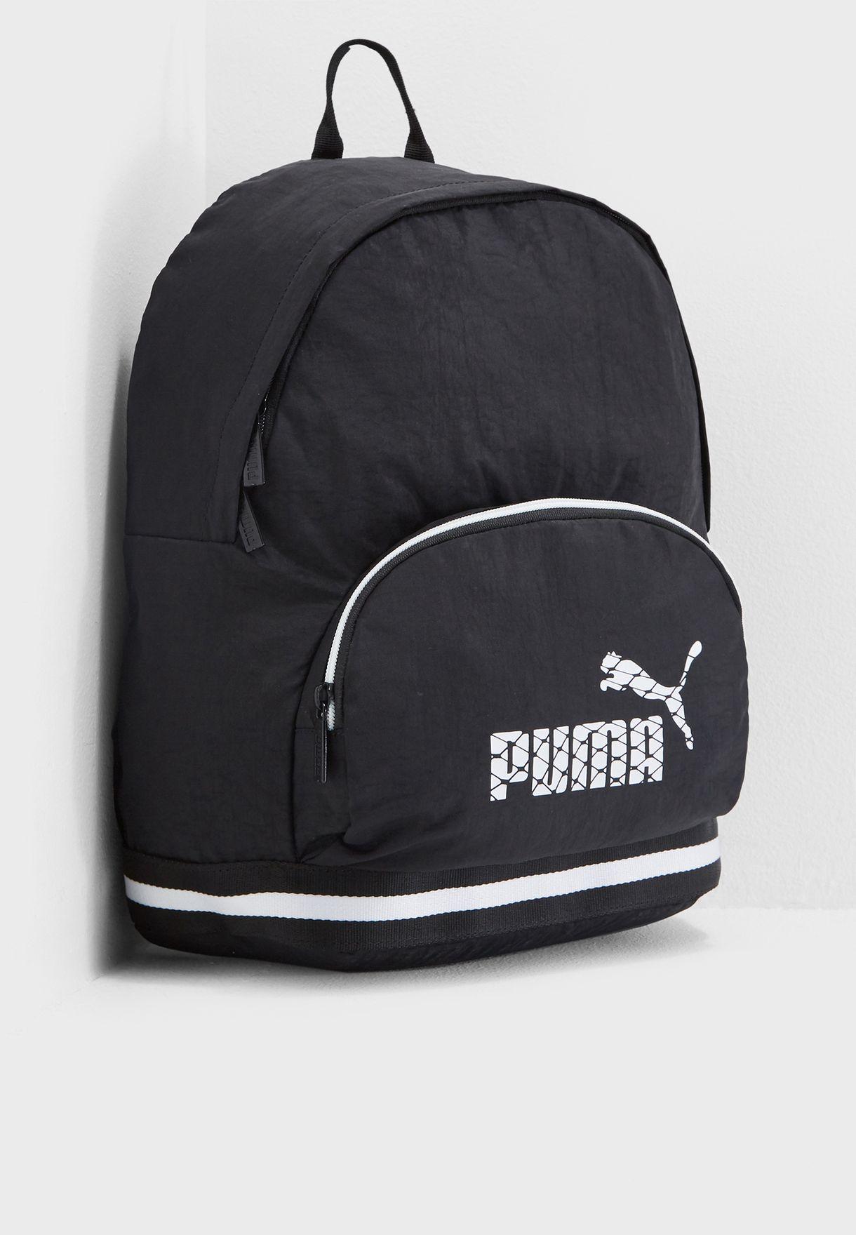 403d4534809e Shop PUMA black Core Backpack 7539602 for Women in UAE - PU020AC57EWS