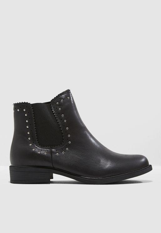 Adrianna Studded Boots