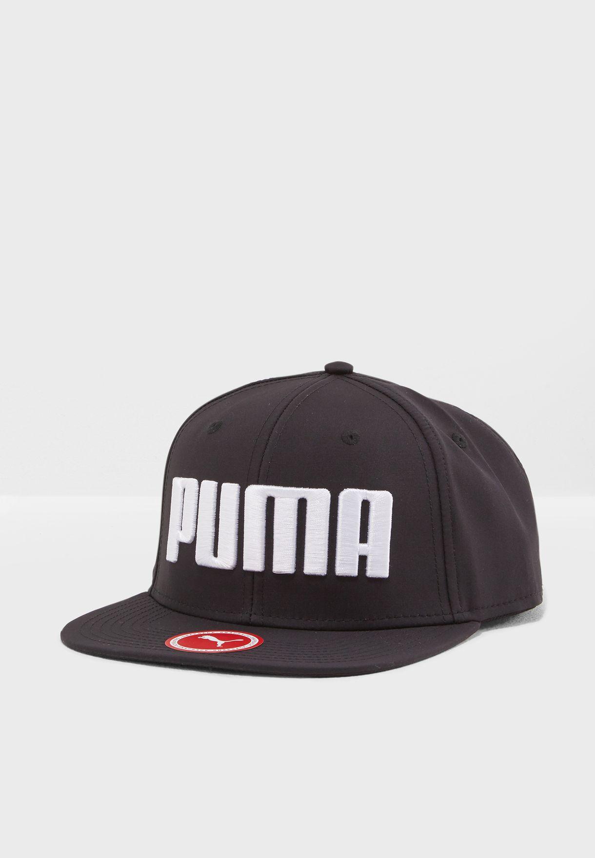 f64b7a65c0a Shop PUMA black Flatbrim Cap 02146001 for Men in Bahrain - PU020AC57YSG
