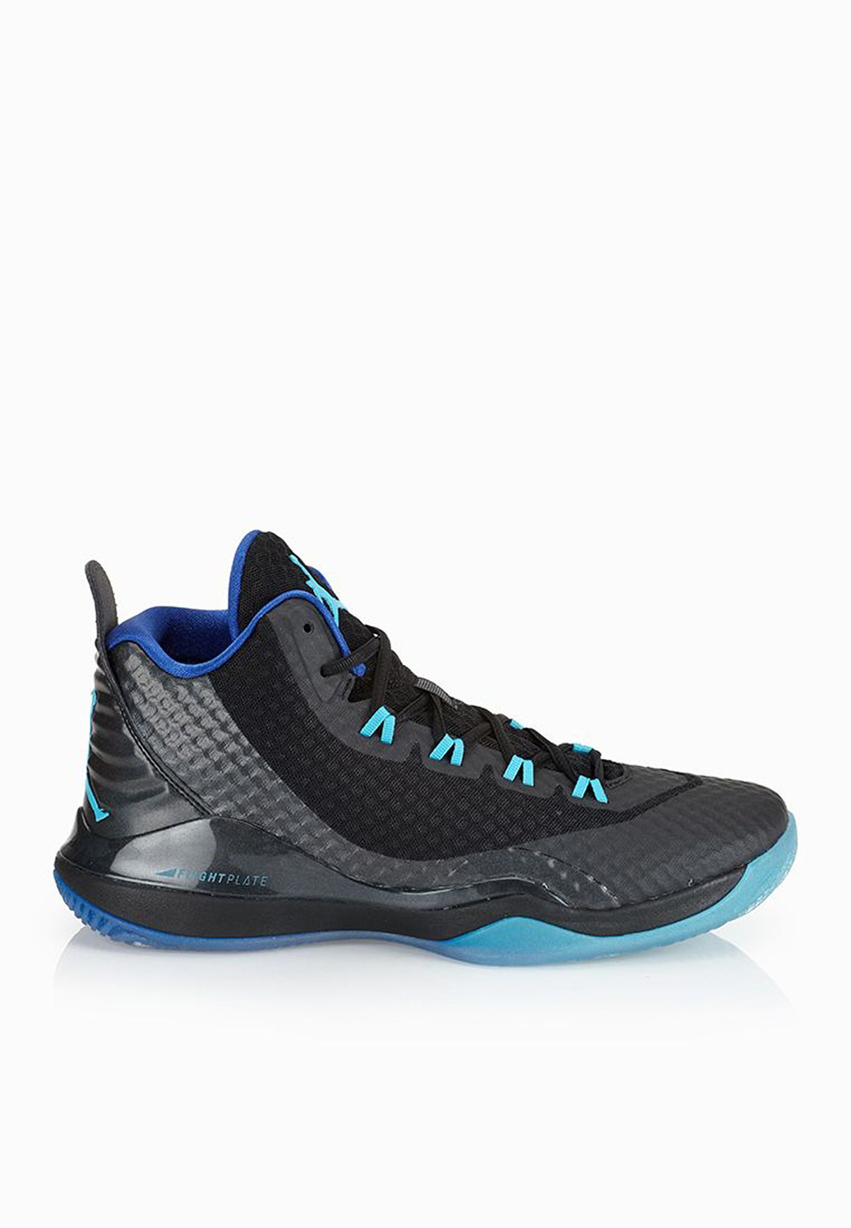 542baa9aa621 Shop Nike black Jordan Super Fly 3 724934-017 for Men in UAE ...