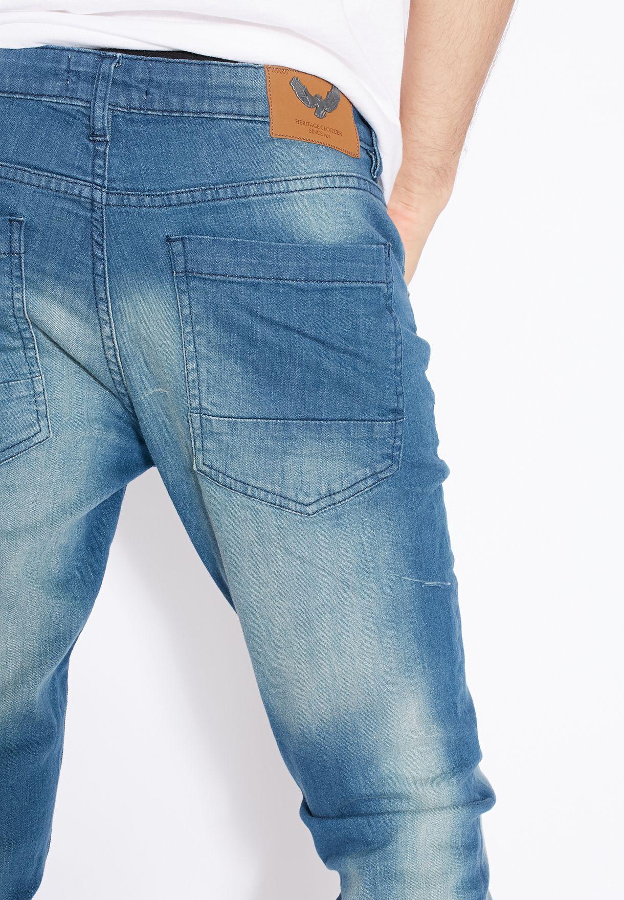 Rex Skinny Fit Dark Wash Jeans