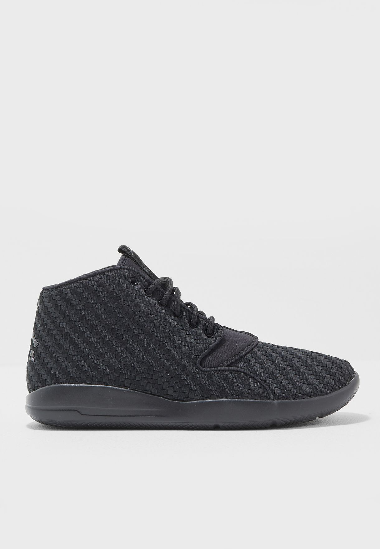 15bf11cf2f4b24 Shop Nike black Jordan Eclipse Chukka Woven AA3996-010 for Men in ...