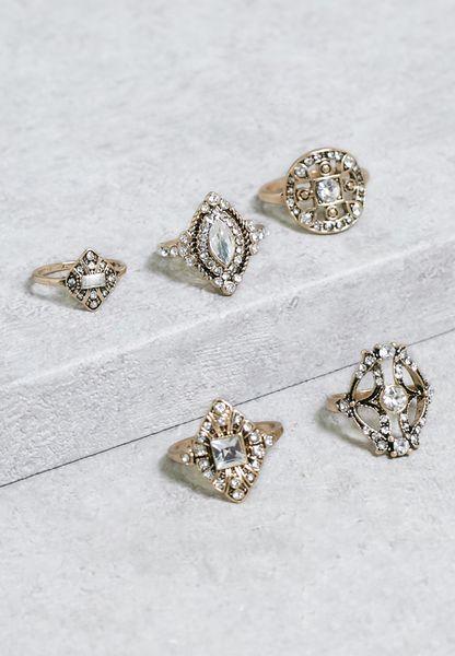 Set Of Rarema Ring