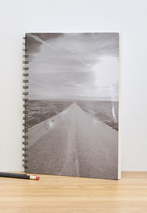 A4 Long Road Notebook