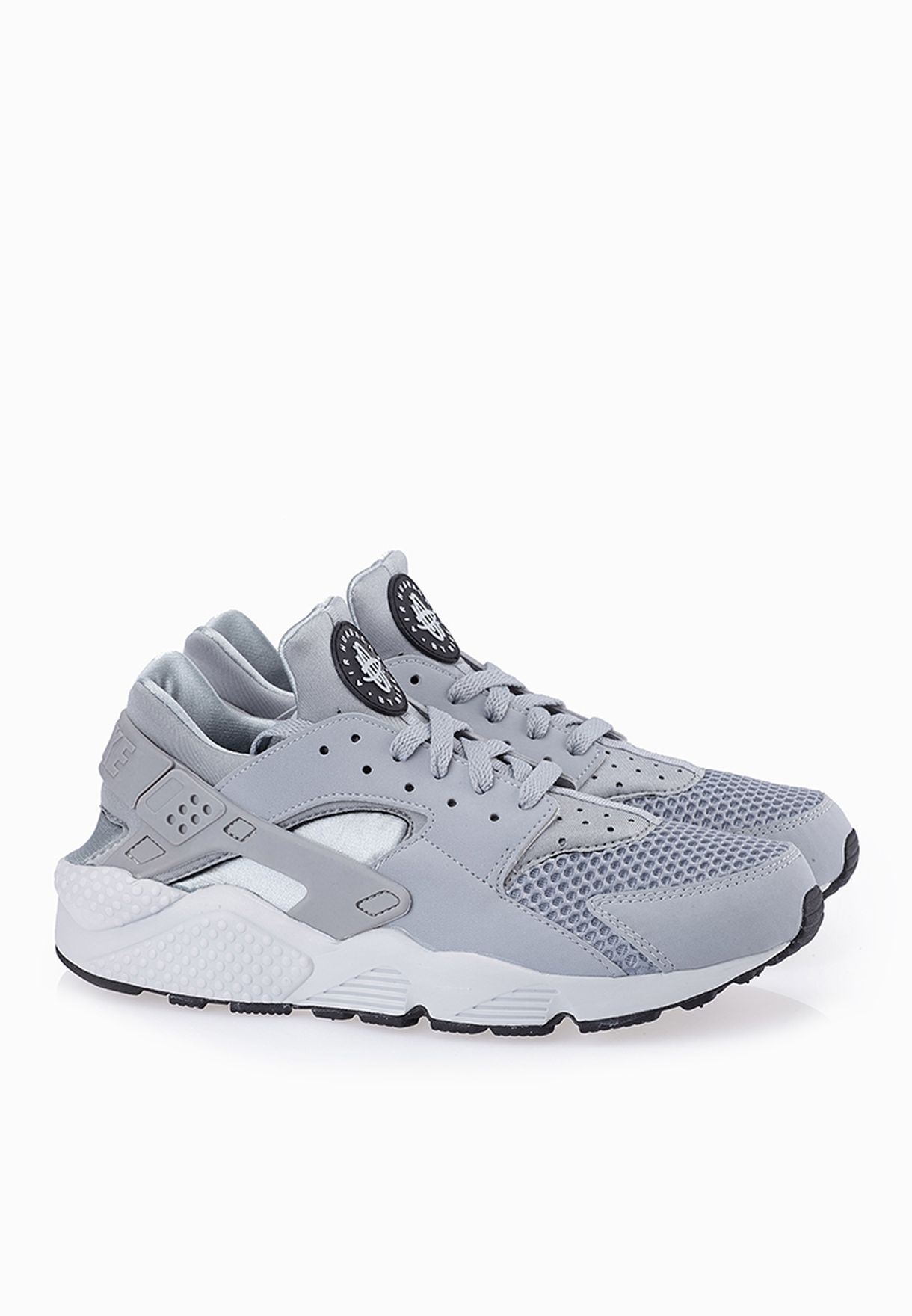 sale retailer 9b59c 2137d Shop Nike grey Air Huarache 318429-014 for Men in UAE - NI727SH57VDM