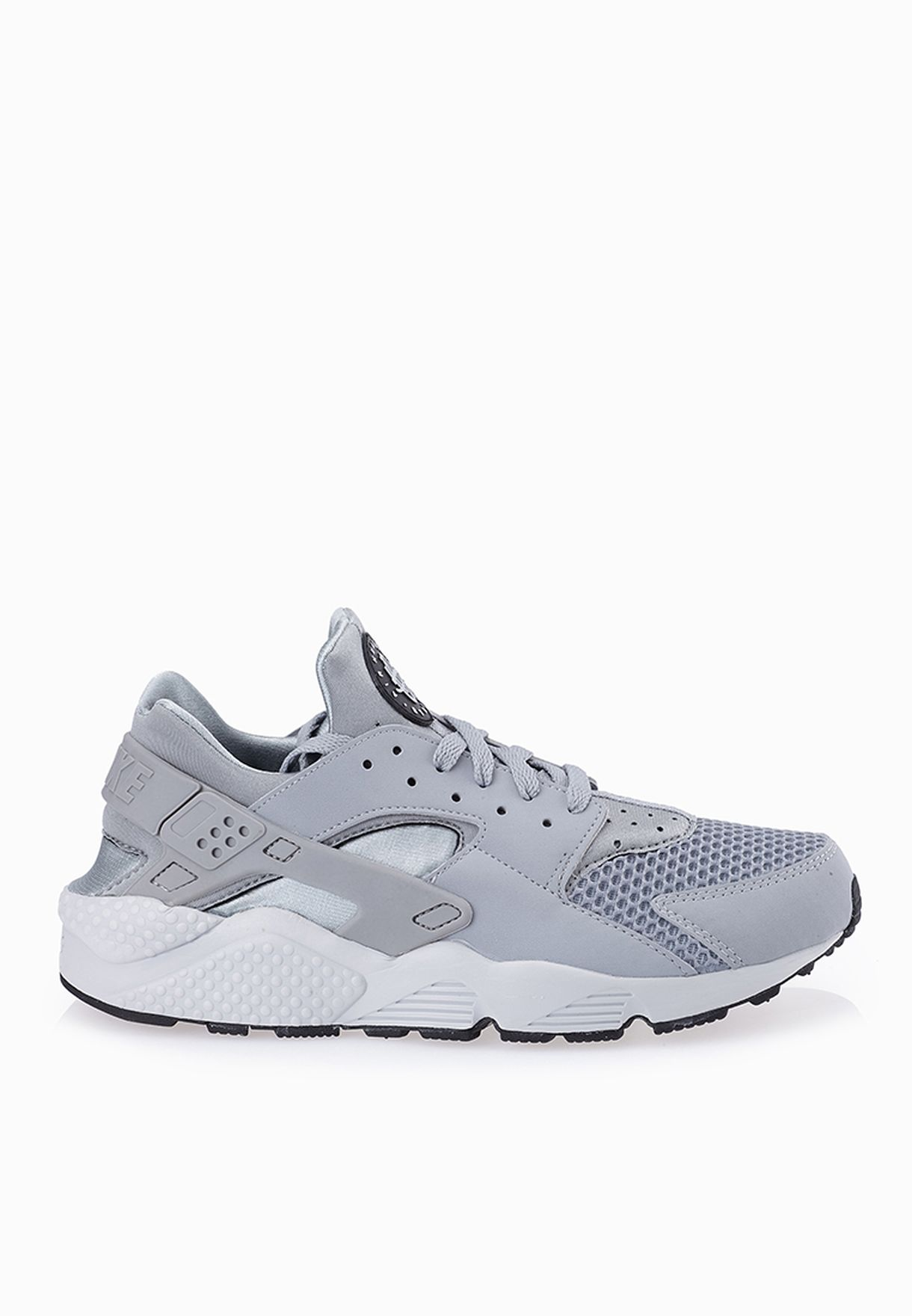 d763307b1e6d Shop Nike grey Air Huarache 318429-014 for Men in UAE - NI727SH57VDM