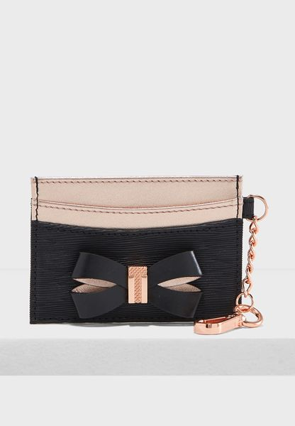 Meira Bow Chain Cardholder